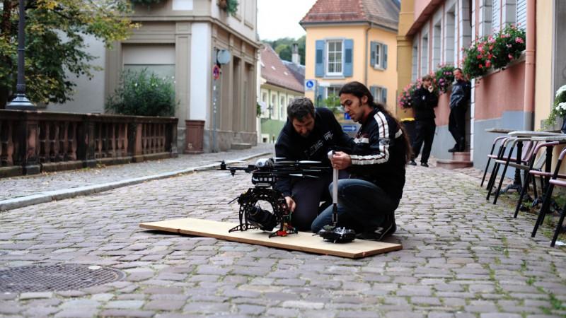 """augeohr filmt für den """"Vollgasmann"""" (ARD Fernsehfilmproduktion mit Uwe Ochsenknecht)"""