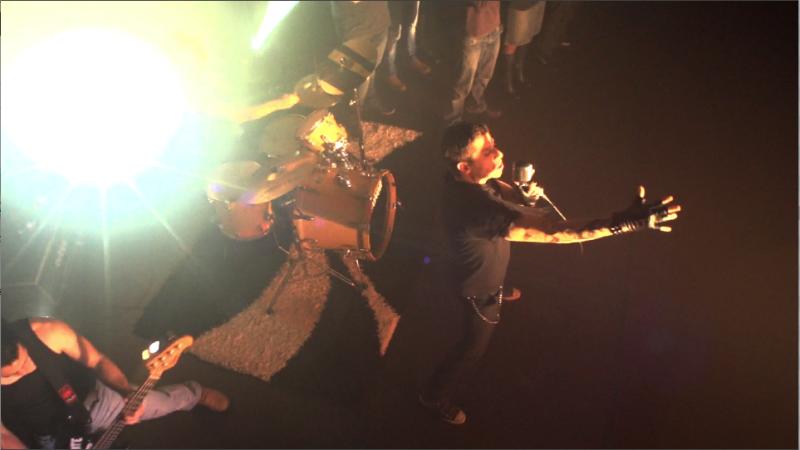 Musikvideodreh im Universum Kino in Landau