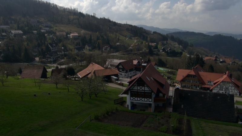 Drehtag im Schwarzwald