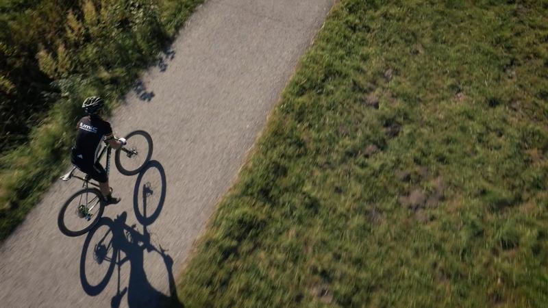 """ARD """"Mann ist doch nicht krank"""", Mountainbike Kirchheim/Teck (Kopterszenen)"""