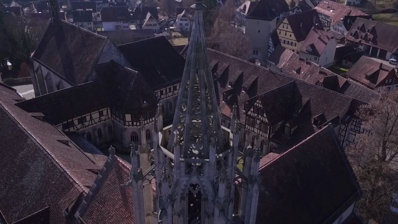 Dreh am Kloster Bebenhausen (SWR)