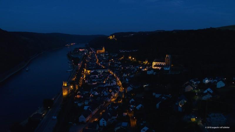 SWR Dreh am Mittelrhein (Mutlikopter)