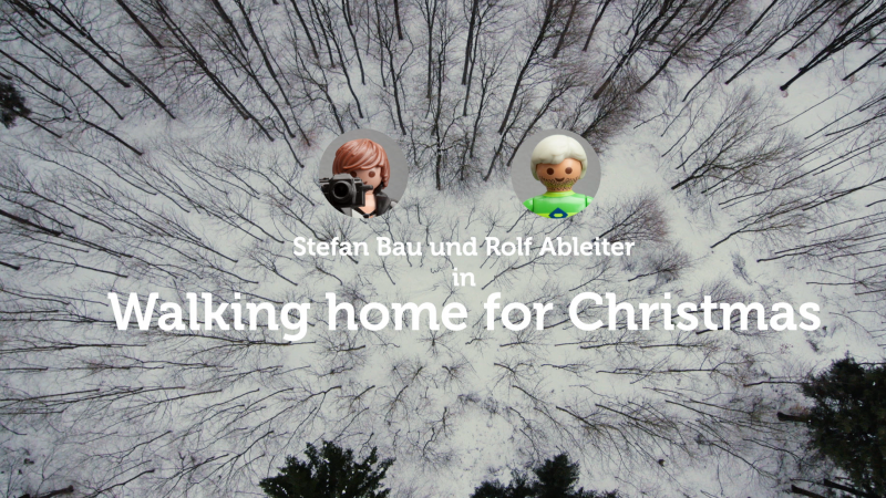 """walking home for Christmas"" unser Weihnachts Stopmotion Film :-)"