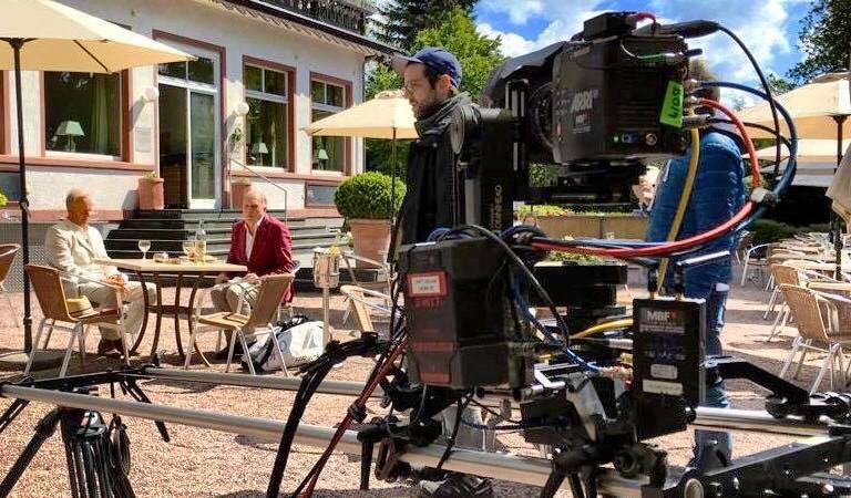 Motion control Dreh für den HR Tatort mit Ulrich Tukur